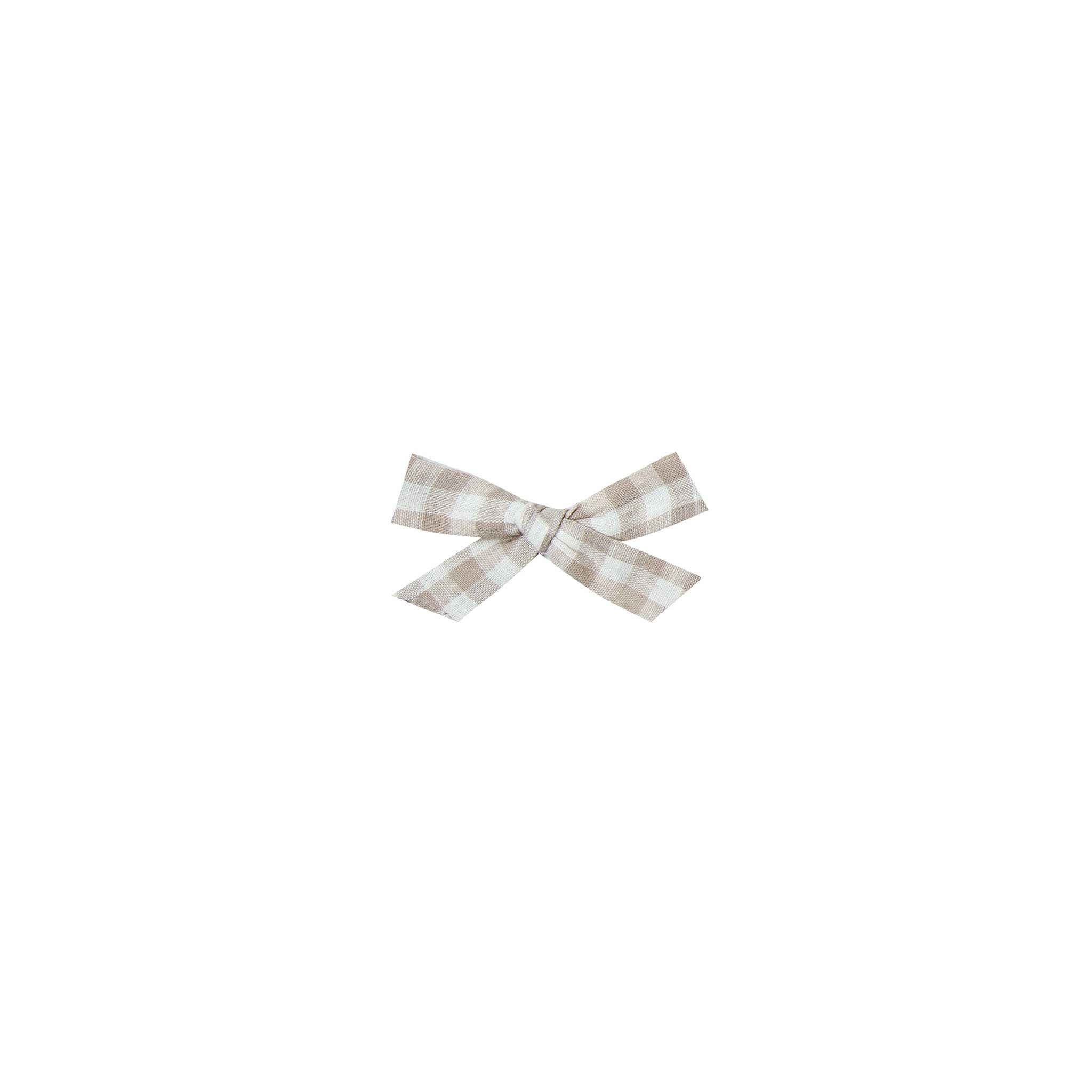 RYLEE + CRU | SNOWBIRD |Bow With Clip | Gingham