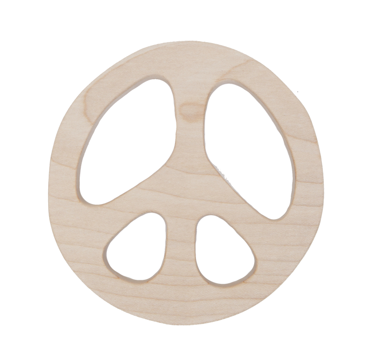 WOODEN STORY Peace Maplewood Teether
