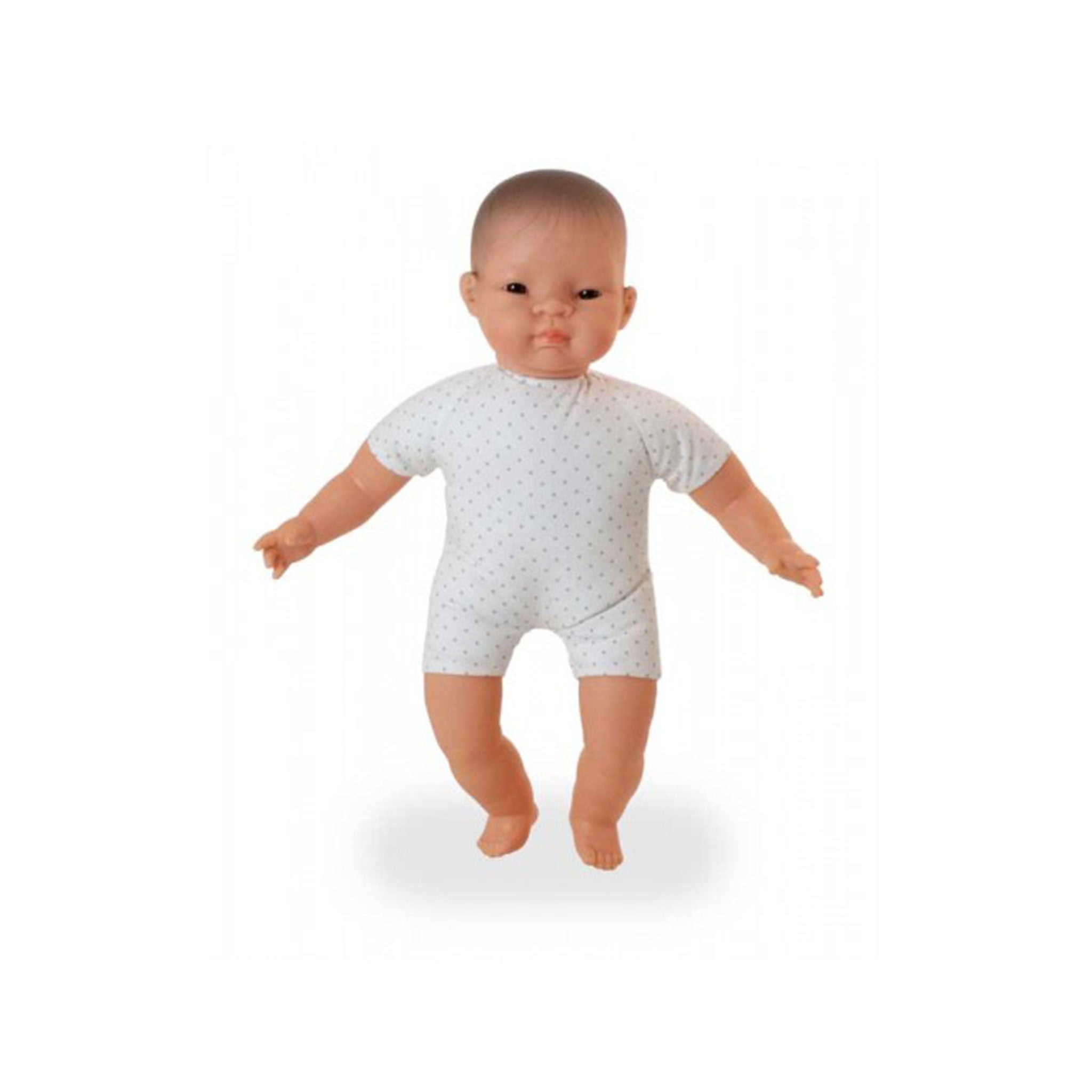 MINILAND Soft Bodied Doll with Articulated Head Asian 40cm