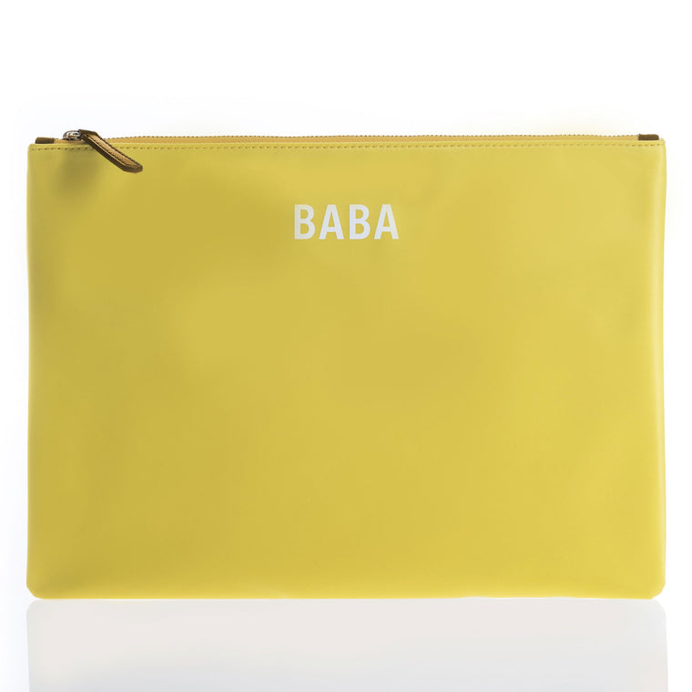 JEM + BEA BABA clutch Yellow