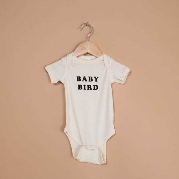 THE BEE AND THE FOX | Onesie | Baby Bird Onesie | Natural