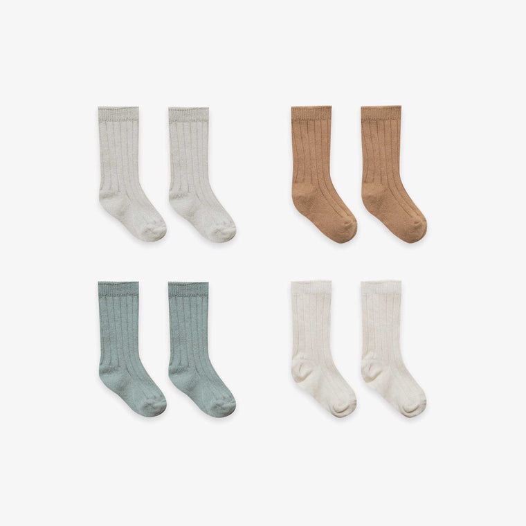 QUINCY MAE I Baby Socks 4 Pack SS19