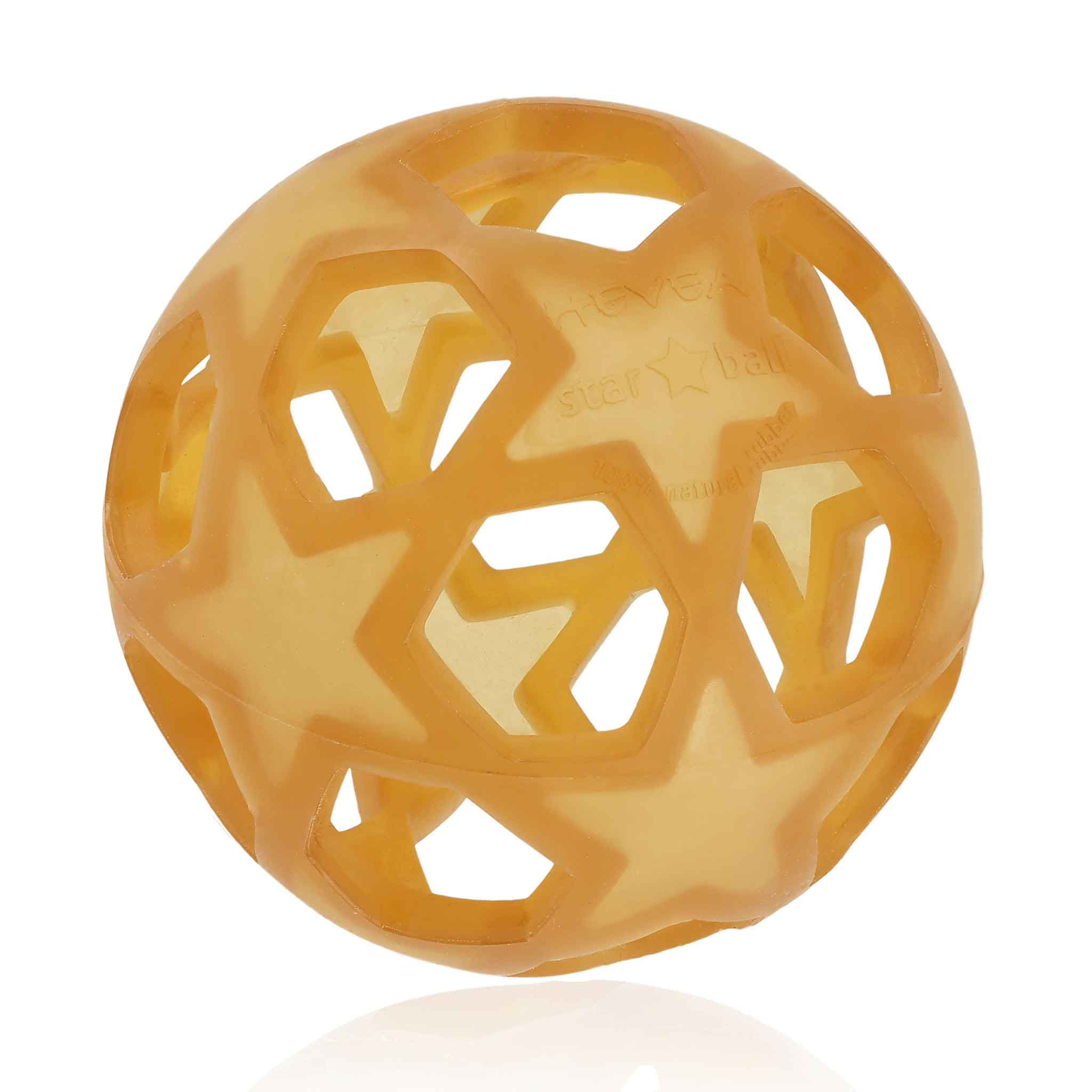 HEVEA Natural Rubber Star Ball Natural