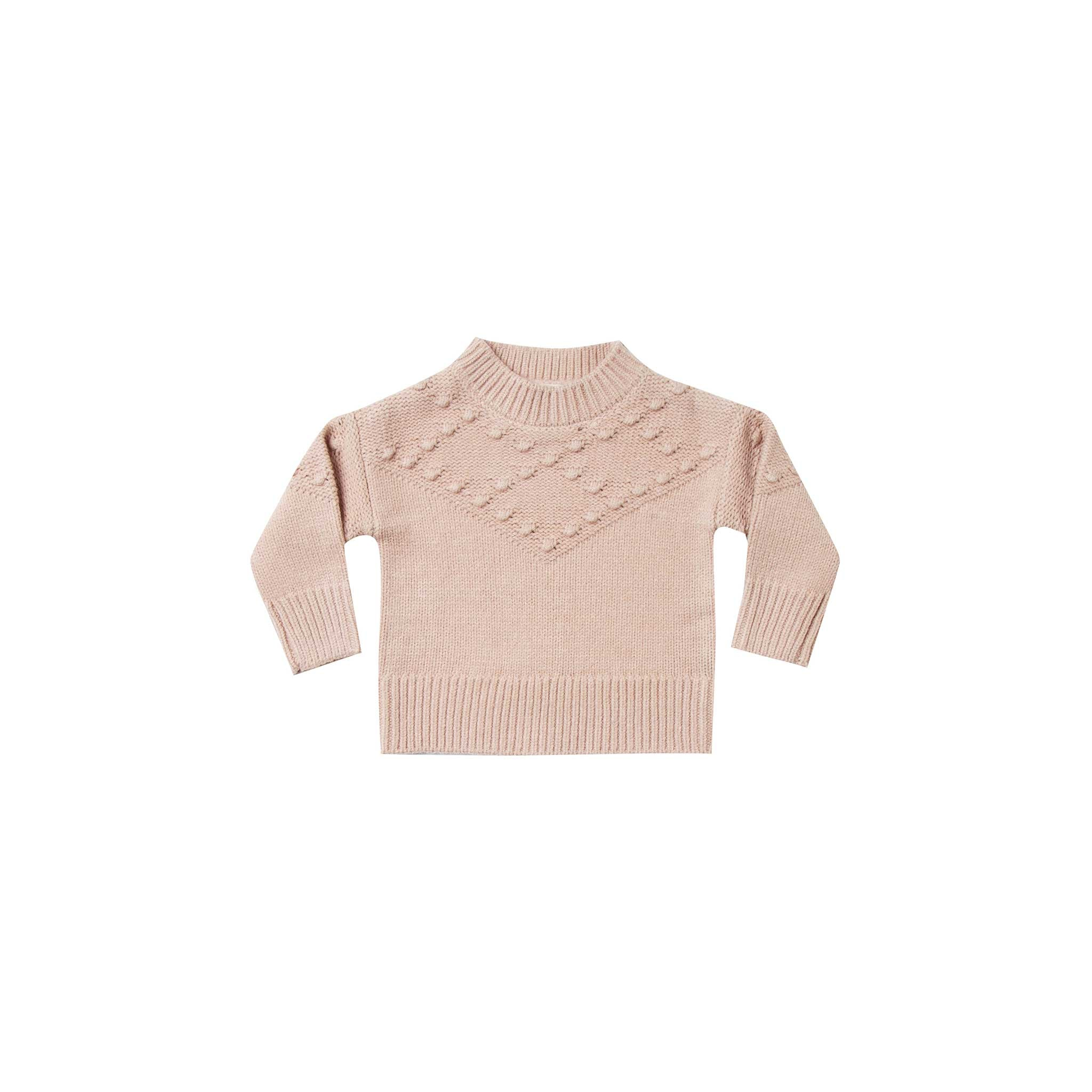 RYLEE + CRU | SNOWBIRD | Bobble Sweater | Rose
