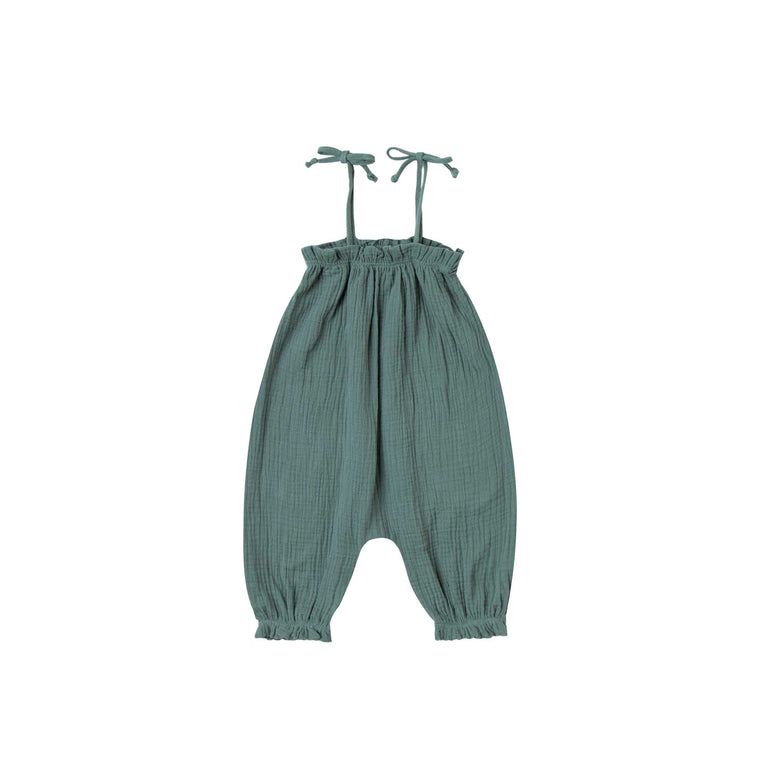 RYLEE + CRU Bubble Jumpsuit - Rainforest