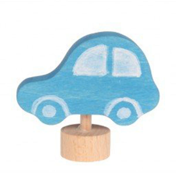 GRIMM'S | Birthday / Celebration Ring Decoration |  Car Blue