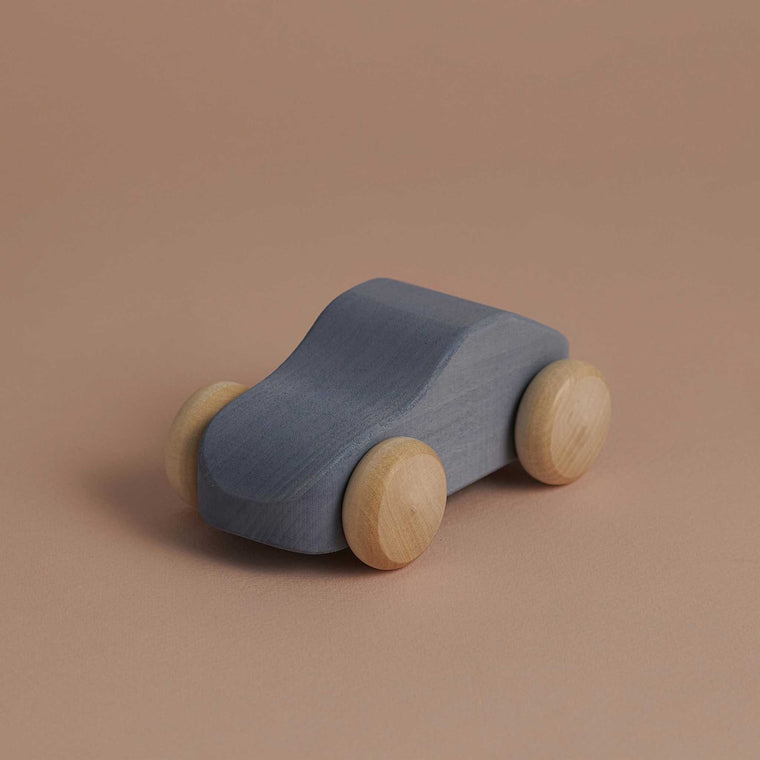 RADUGA GRËZ  | Wooden Toy Car | Light Blue
