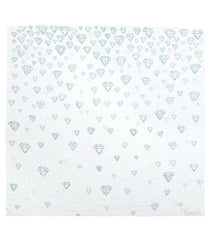 COVETED THINGS Water Colour Diamonds - Organic Swaddle