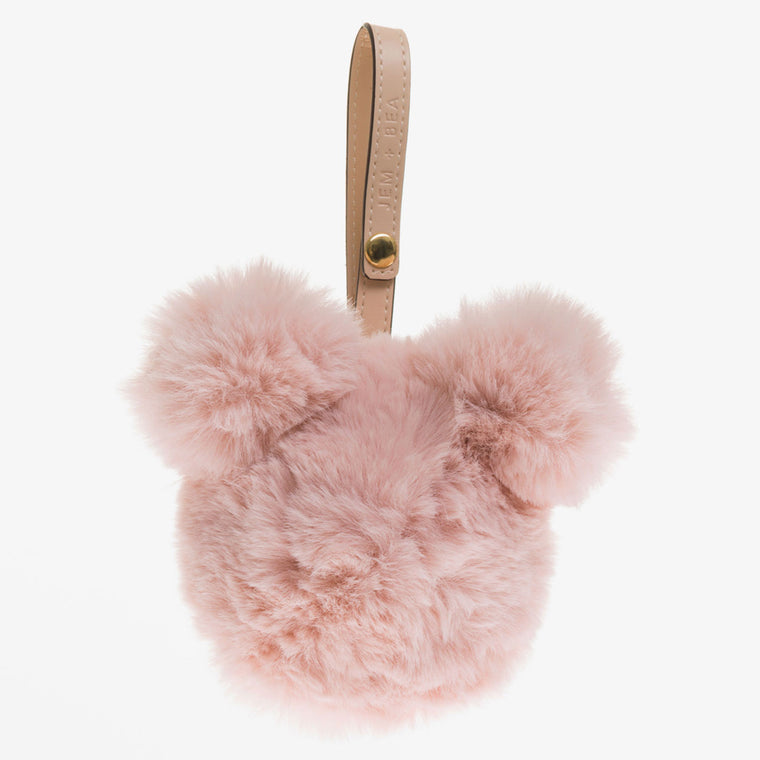 JEM + BEA Dummy Bear Bag Blush