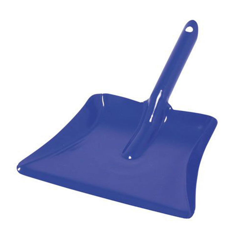 GLUCKSKAFER | Metal Dust Pan | Blue