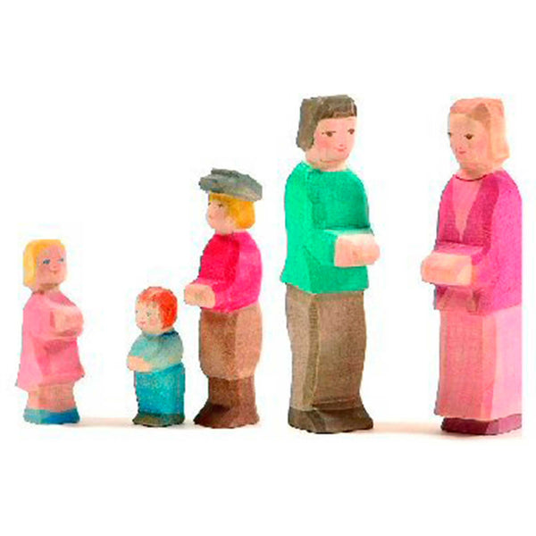 OSTHEIMER Wooden Family Set Of 5