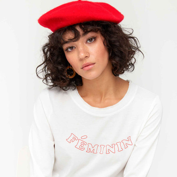 MATE THE LABEL The Gavin Oversized Tee Feminin