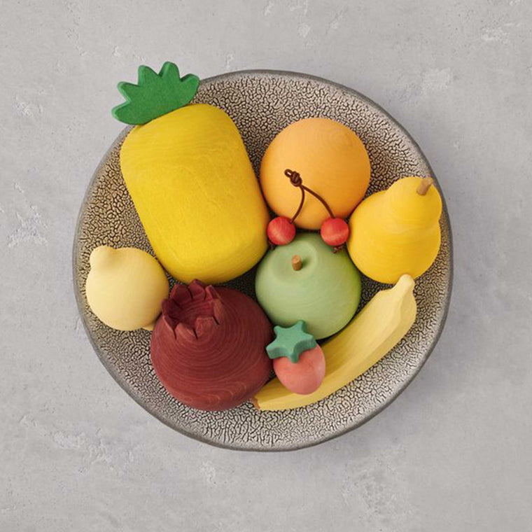 RADUGA GRËZ  | Wooden Fruits Set