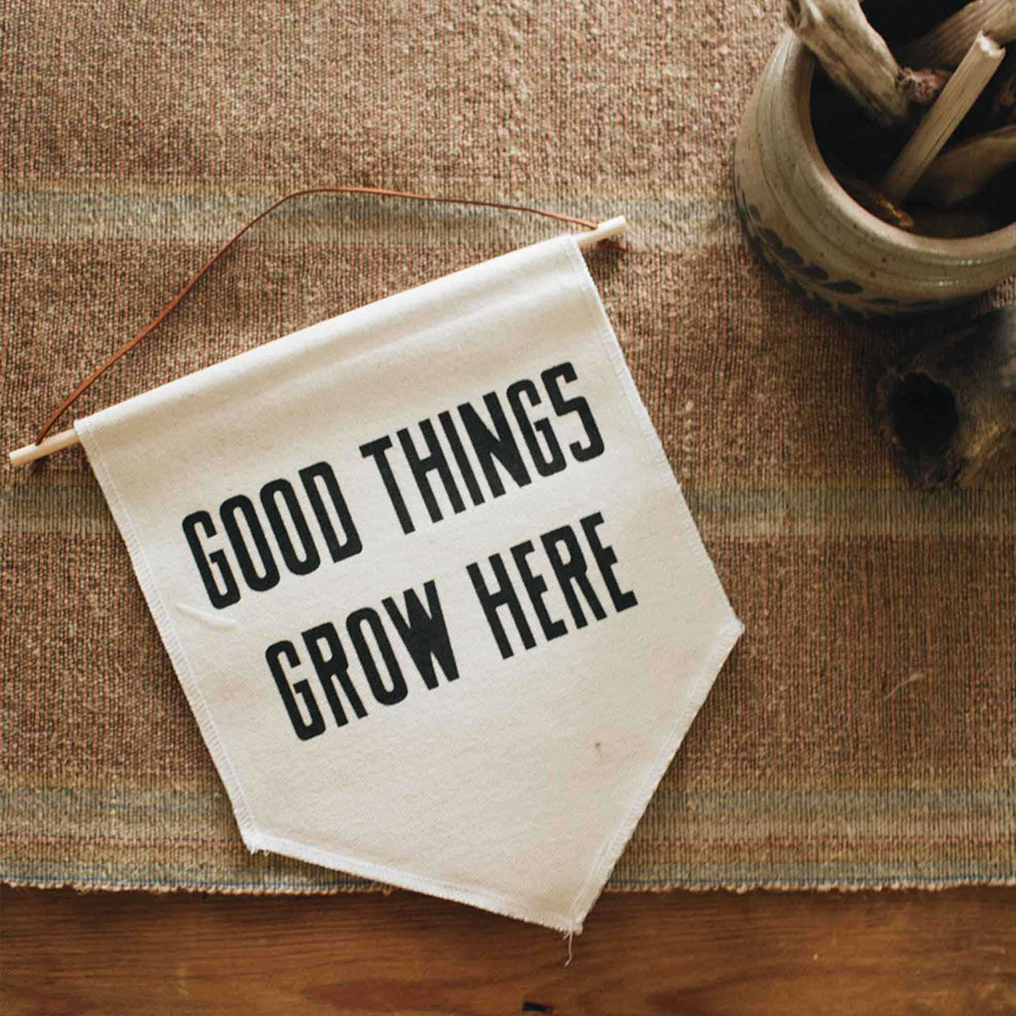 The Bee & The Fox | Wall Decoration | Good Things Grow Here