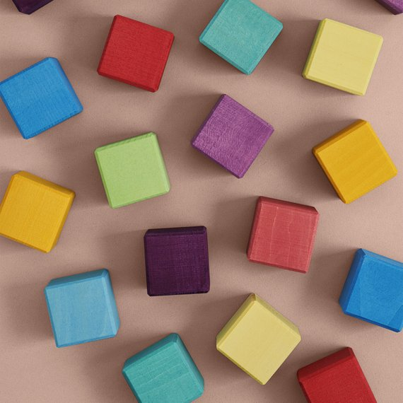 RADUGA GRËZ | Cubes Rainbow | Set Of 20