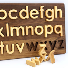 TREASURES FROM JENNIFER | Alphabet Puzzle | Lower Case
