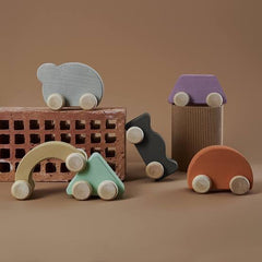 RADUGA GRËZ  | Wooden Toy Car | Biscuit