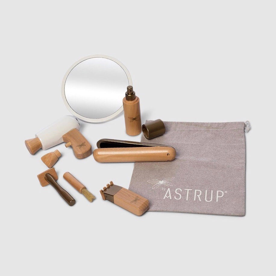 ASTRUP | Wooden Hairdressing Set