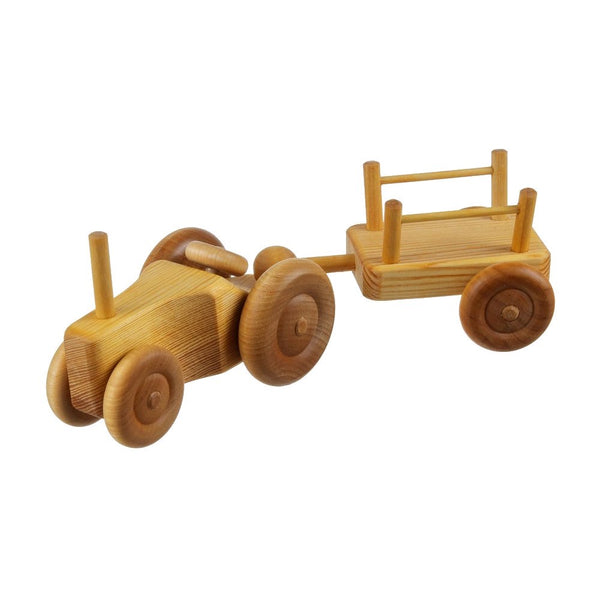 DEBRESK | Small Tractor with Cart