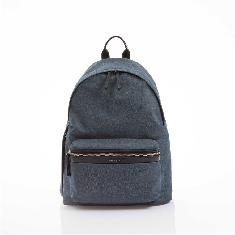 JEM + BEA JAMIE Indigo Denim Changing Bag