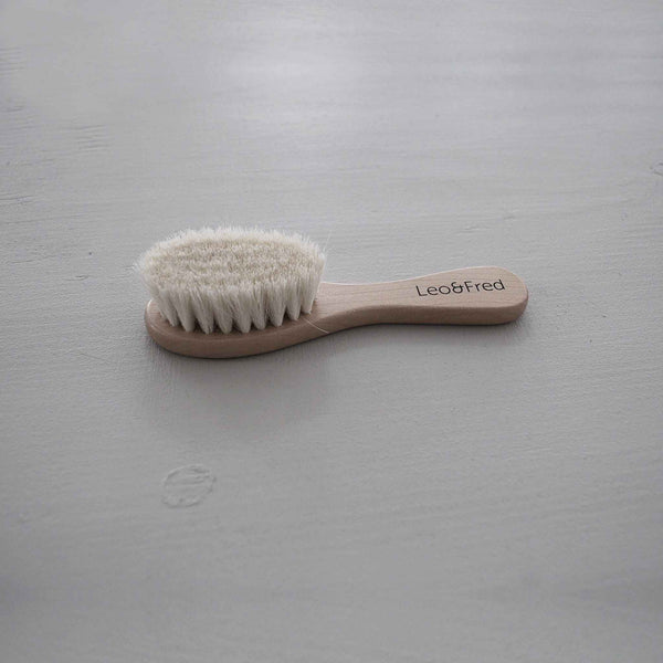 LEO & FRED Wooden Hair Brush