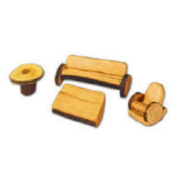 Magic Wood Small Loungeroom Furniture Set