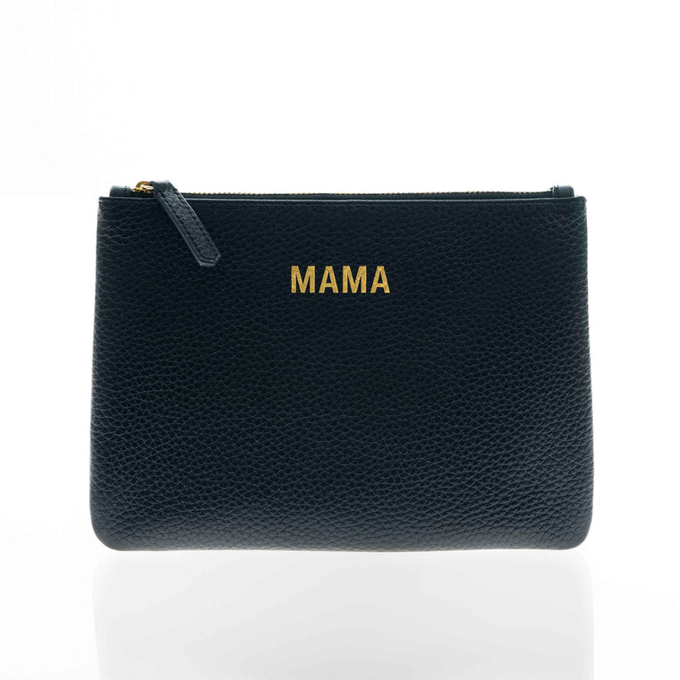 JEM + BEA MAMA clutch Black