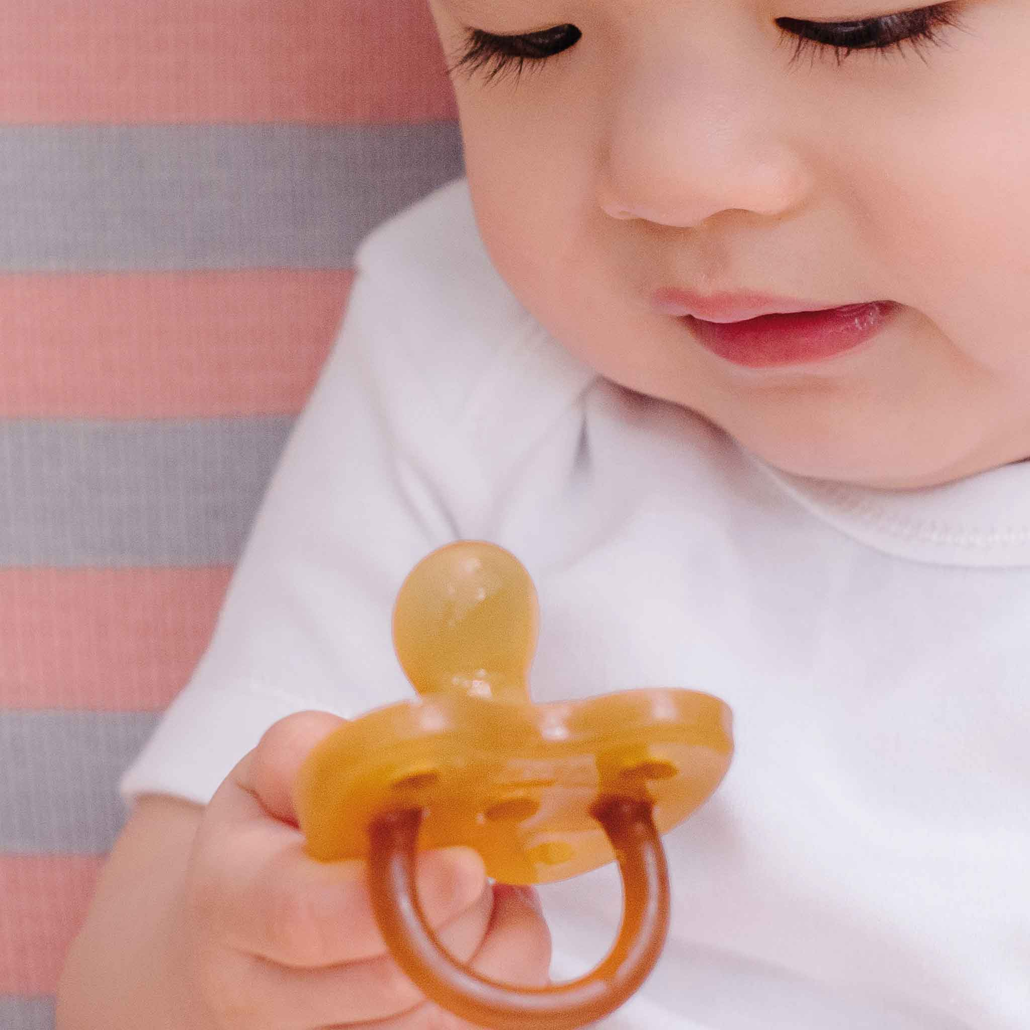 HEVEA Natural Rubber Pacifier Orthodontic Car