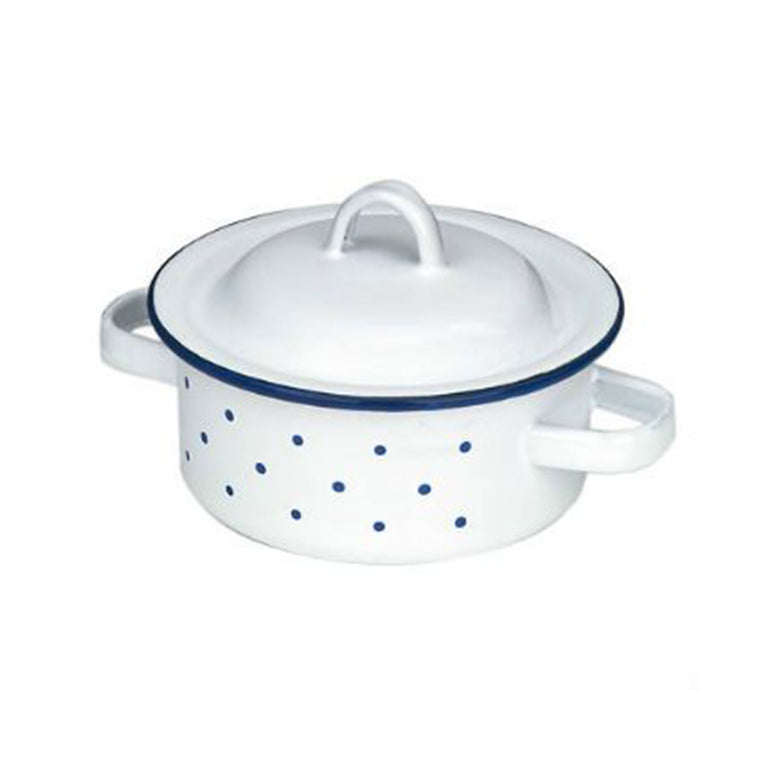 GLUCKSKAFER | Enamel Pot Low | Three Sizes