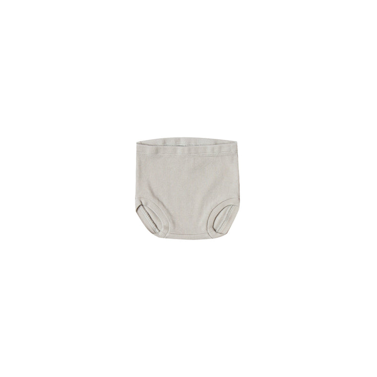 QUINCY MAE Ribbed Bloomer - Dove (Pre-Order Mid November Delivery)