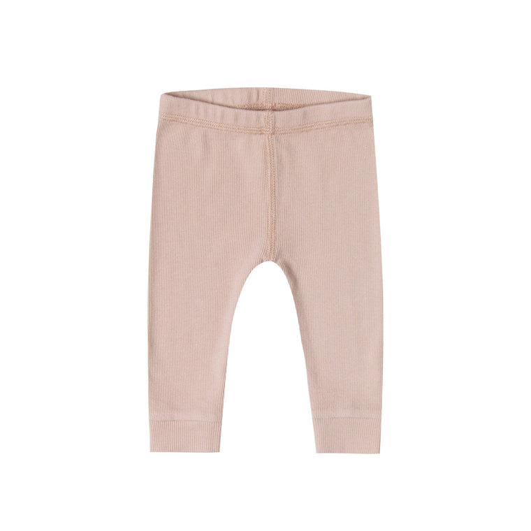 QUINCY MAE Ribbed Legging - Rose (Pre-Order Mid November Delivery)