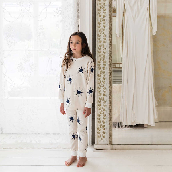 SLEEPY DOE | Kids Classic PJ Set | Sunshine Dusk