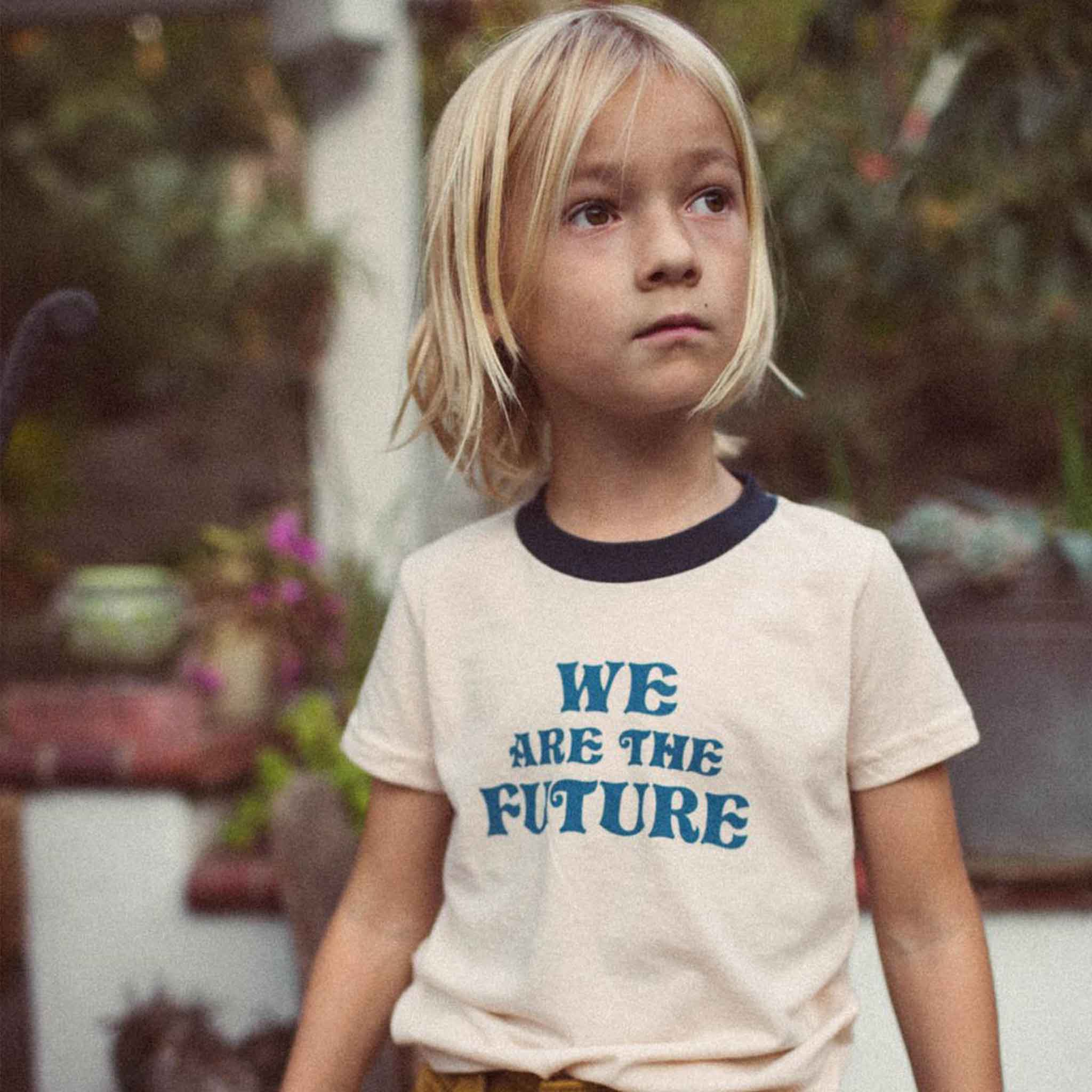THE BEE AND THE FOX | Tee | We Are The Future | Cream