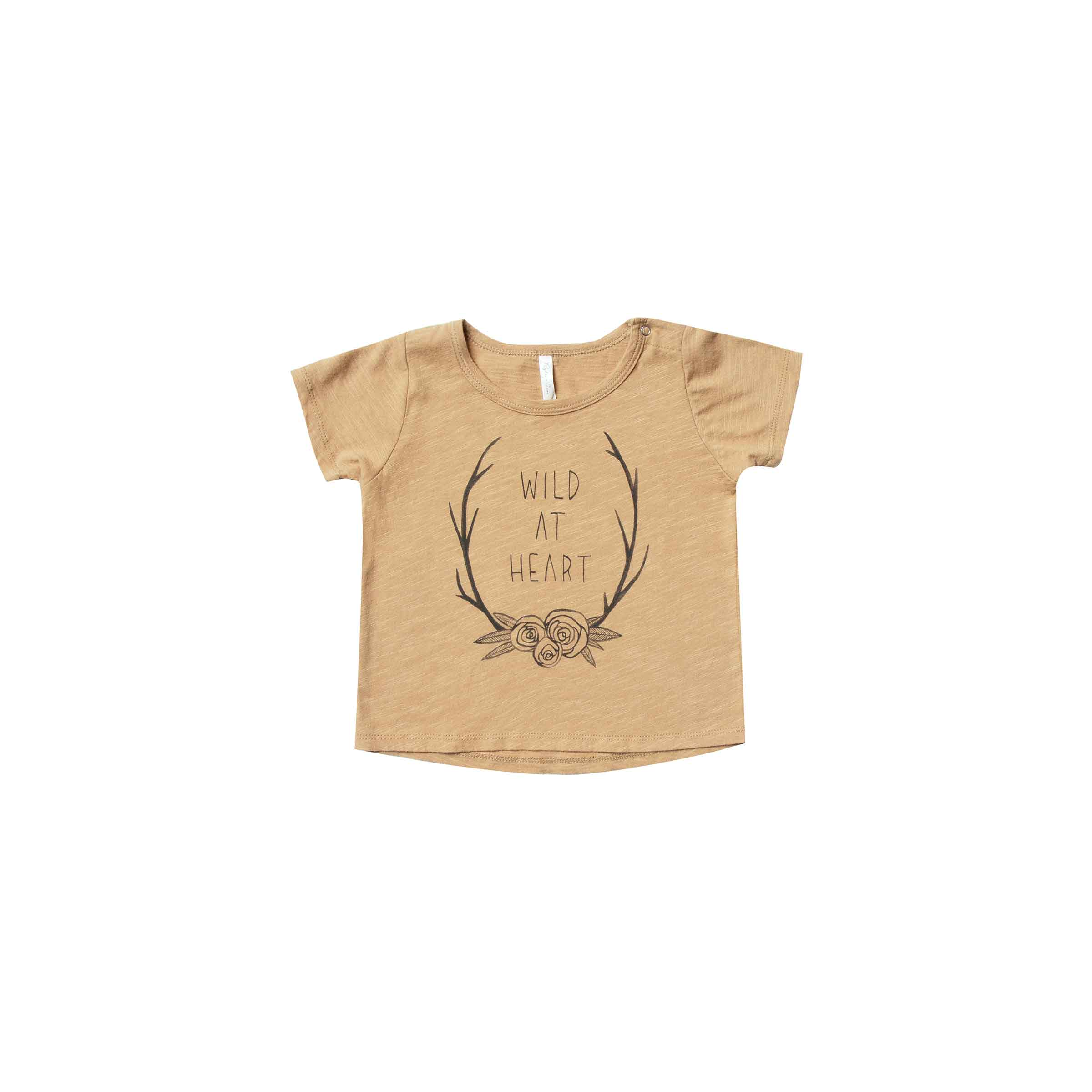 RYLEE + CRU | SNOWBIRD | Wild Heart Basic Tee | Honey