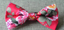 Men's Floral Bow Ties