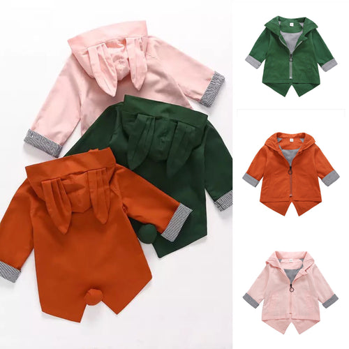 Hooded Bunny Ears Jackets 12M-5Y (PRE-ORDER)