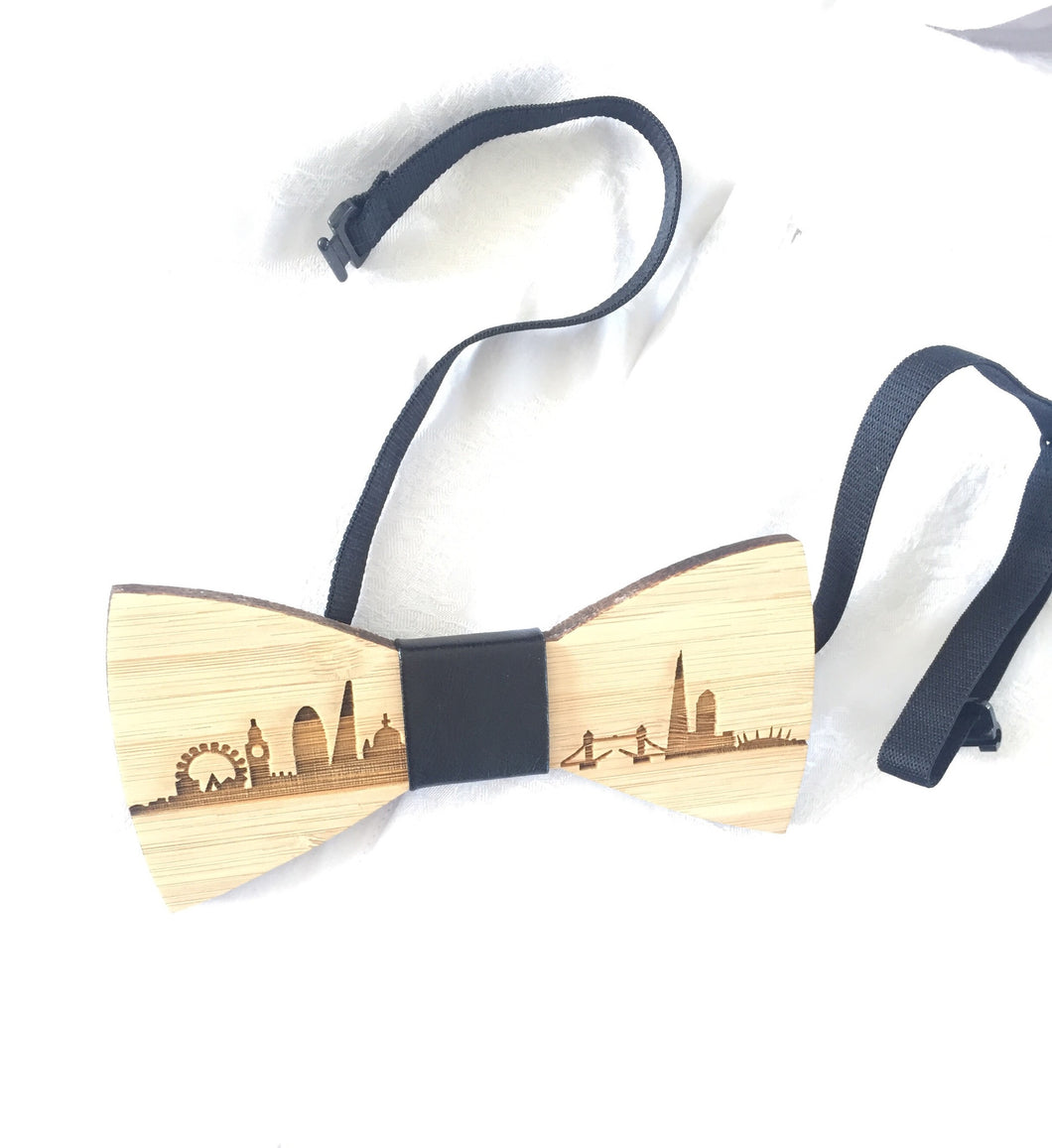 Bamboo Bow Tie