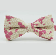 Mens Silk Floral Bow Ties