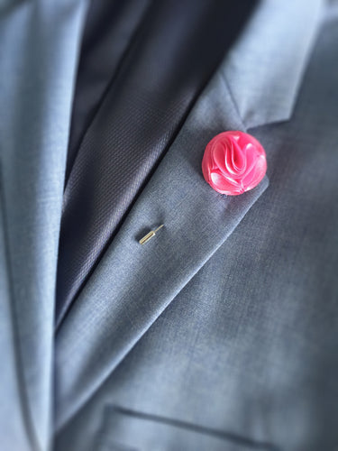 Men's Floral Suit Lapel Pins