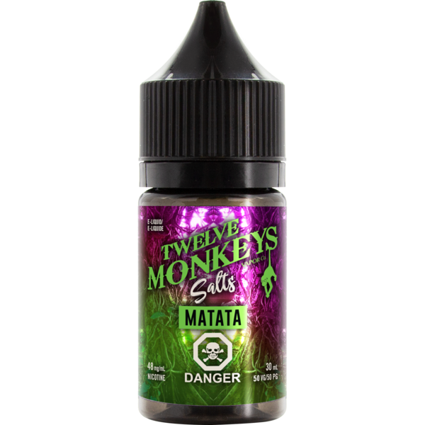Twelve Monkeys Salts Matata - Fraser 420 Smoke Shop - Surrey, BC -  - Fraser 420 - Glass & Gifts, Bongs, Vaporizers, Vape, Green Leaf Hemp & Blunts