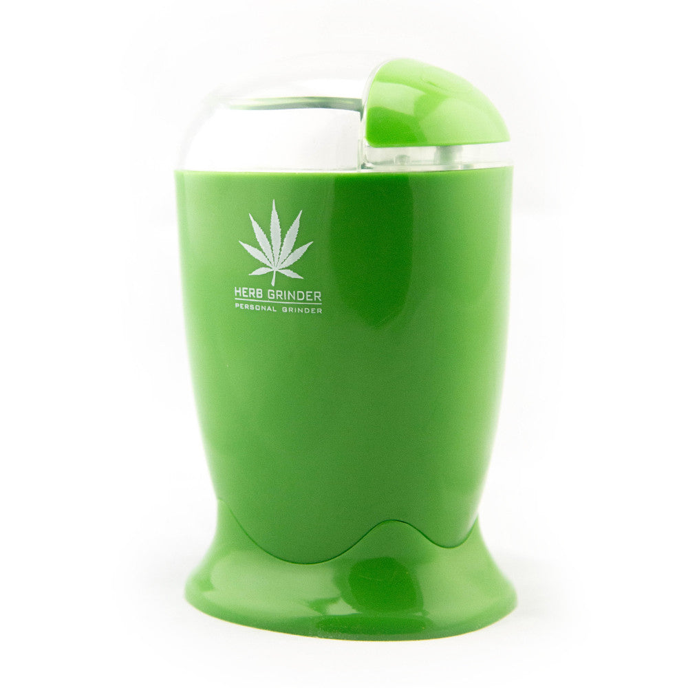 Electric Herb Grinder - Fraser 420 Smoke Shop - Surrey, BC - Grinders - Fraser Stop n Go - Glass & Gifts, Bongs, Vaporizers, Vape, Green Leaf Hemp & Blunts