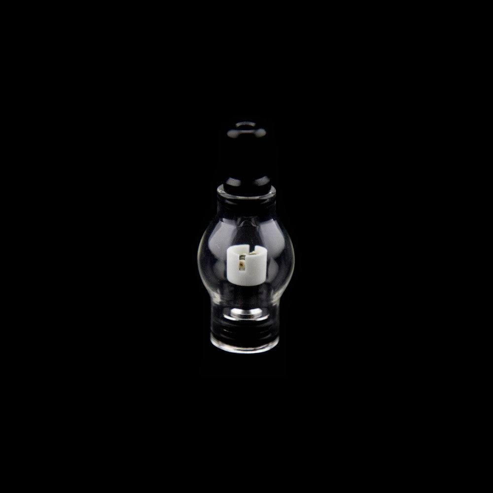 Glass Globe with Dual Quartz Coil 510 Thread - Fraser 420 Smoke Shop - Surrey, BC - Tops - Fraser Stop n Go - Glass & Gifts, Bongs, Vaporizers, Vape, Green Leaf Hemp & Blunts