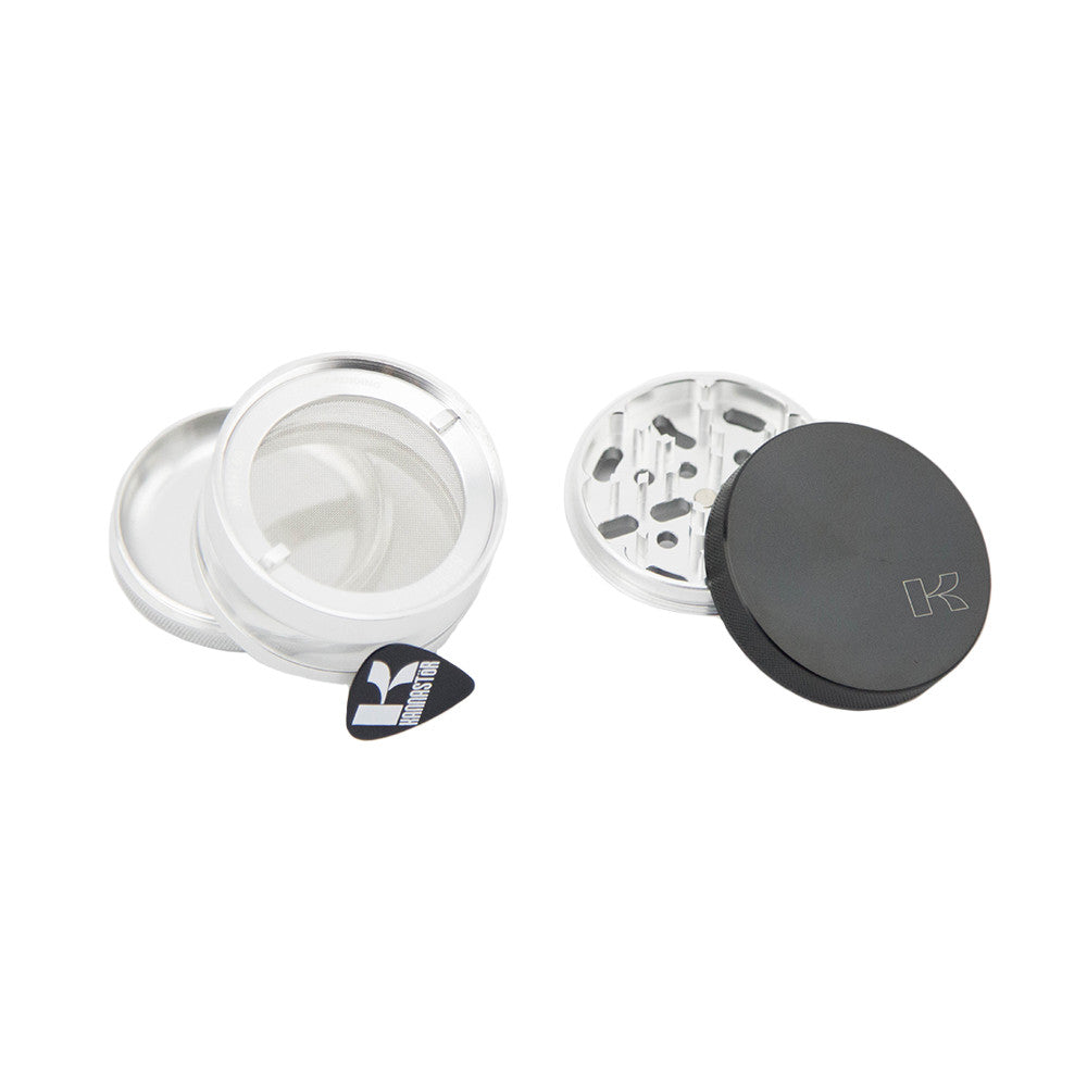 "Kannastor 4pc Grinder Solid Top & Jar Body 2.5"" - Fraser 420 Smoke Shop - Surrey, BC - Grinders - Fraser Stop n Go - Glass & Gifts, Bongs, Vaporizers, Vape, Green Leaf Hemp & Blunts"