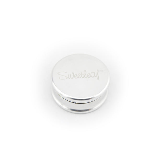 SweetLeaf 2pc Aluminum Party Grinder - Fraser 420 Smoke Shop - Surrey, BC - Grinders - Fraser Stop n Go - Glass & Gifts, Bongs, Vaporizers, Vape, Green Leaf Hemp & Blunts