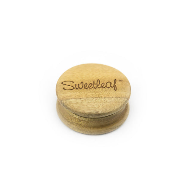 SweetLeaf Large Wood Grinder - Fraser 420 Smoke Shop - Surrey, BC - Grinders - Fraser Stop n Go - Glass & Gifts, Bongs, Vaporizers, Vape, Green Leaf Hemp & Blunts