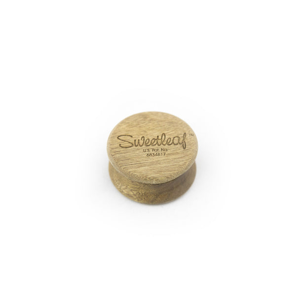 "Sweetleaf Pocket-Sized 2"" 2pc Wood Grinder - Fraser 420 Smoke Shop - Surrey, BC - Grinders - Fraser Stop n Go - Glass & Gifts, Bongs, Vaporizers, Vape, Green Leaf Hemp & Blunts"