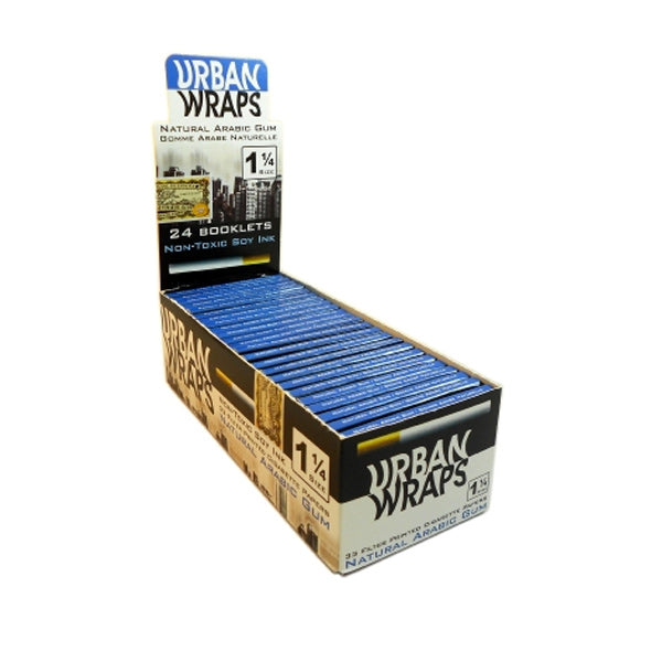Urban Wraps Wrapping Paper 1 1/4 Inch - Fraser 420 Smoke Shop - Surrey, BC - Wraps and Rolling Papers - Fraser 420 - Glass & Gifts, Bongs, Vaporizers, Vape, Green Leaf Hemp & Blunts
