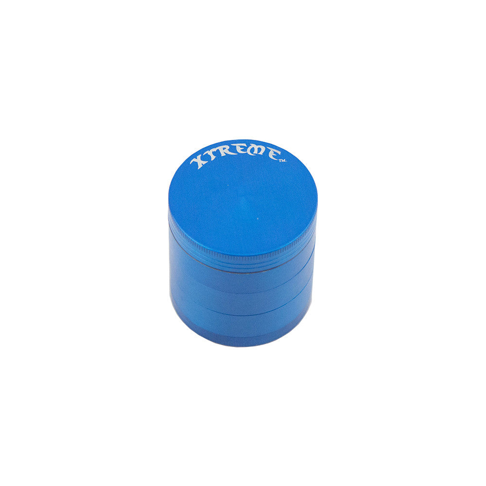 Xtreme 5pc Herb Grinder - Blue - Fraser 420 Smoke Shop - Surrey, BC - Grinders - Fraser Stop n Go - Glass & Gifts, Bongs, Vaporizers, Vape, Green Leaf Hemp & Blunts