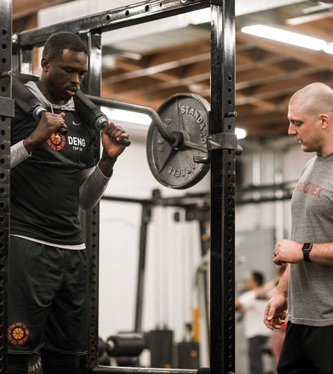 Jacob Ross and Luol Deng | Progenex Advocates