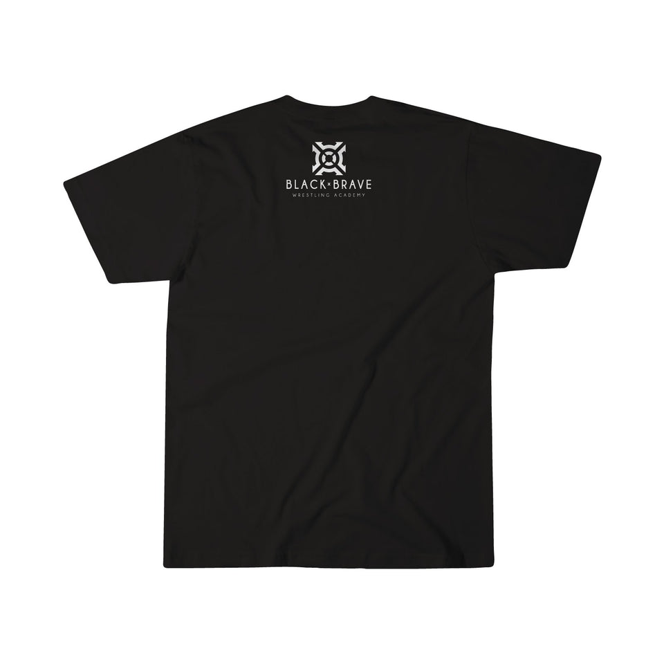 Men's Black and Brave Tee